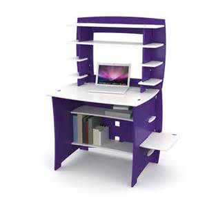 Small Desk No Assembly No Tools Assembly Select Student Desk With Hutch Purple