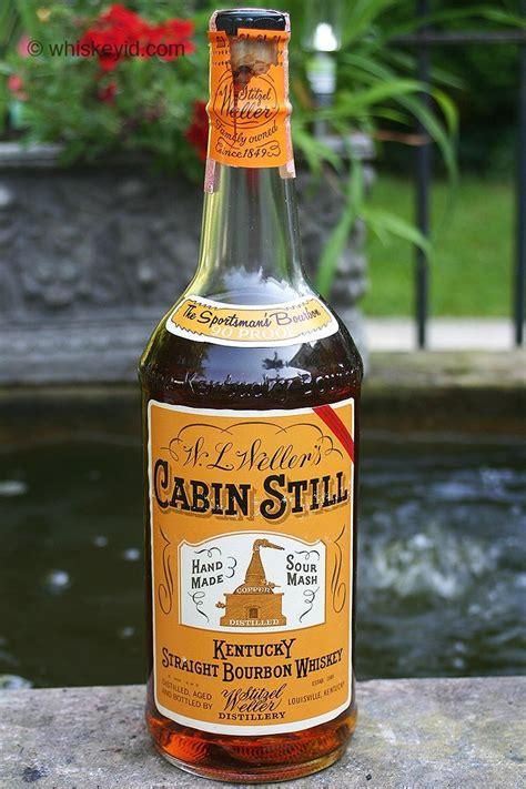 Cabin Still Bourbon by Stitzel Weller Whiskey Id Identify Vintage And