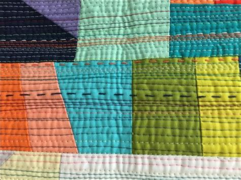 quilting stitch tutorial matchstick quilting with both machine stitching and hand