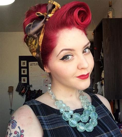 Pin Up Scarf Hairstyles by 20 Gorgeous Bandana Hairstyles For Cool