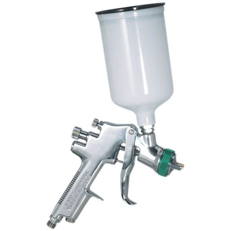spray paint gun husky gravity feed hvlp spray gun h4840ghvsg the home depot