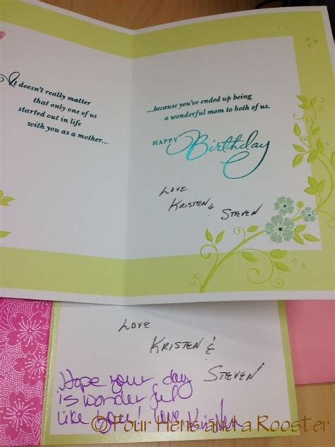 How To Sign A Birthday Card Mothers Day Cards How Men Sign Cards Hallmark Greeting