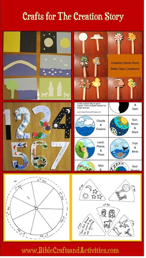 Themes In The Creation Story   best 25 creation crafts ideas on pinterest creation
