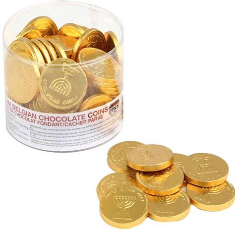 chanukah gelt chocolate coins nut free chocolate coins tub 70 count chanukah gelt chocolate coins hanukkah gifts