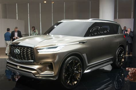 New Infiniti Qx80 2020 by Infiniti Previews Next Qx80 With Monograph Concept