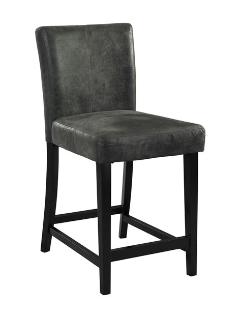 Charcoal Grey Bar Stools by Morocco Charcoal Gray Counter Height Bar Stool