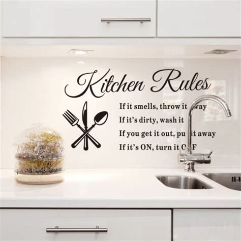 kitchen wall quote stickers kitchen wall quotes and sayings quotesgram