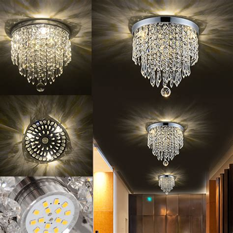 led home decor led pendant ceiling l elegant crystal ball light led