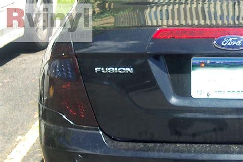 2012 ford fusion tail light pro precut smoke taillight tint film kit ford fusion 2010