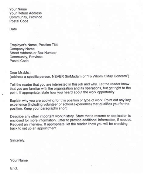 exle of cover letters for applications cover letter sle sle cover letter for