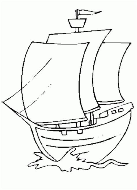 barco dibujo infantil dibujo de barco de vela para colorear dibujos infantiles