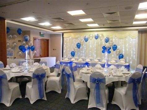 big decs decorations wedding venue decorations chair covers balloons and