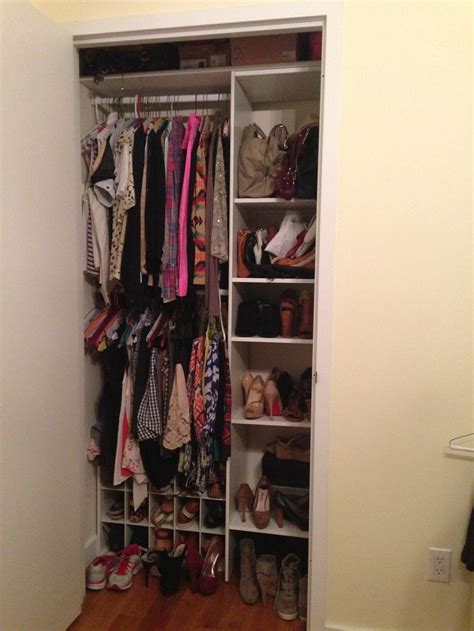 apartment closet organization organization for a small closet in an apartment closet