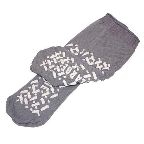 no slip slipper socks 3 pack hospital no skid no slip slipper socks 2x