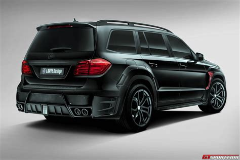 small cars black official mercedes benz gl black crystal by larte design