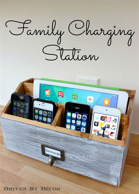 diy charging table diy family charging station dinner table dinners and phone