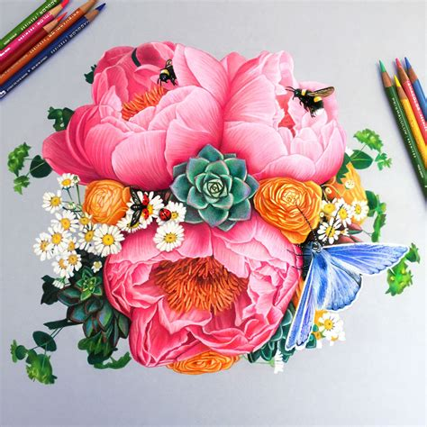 colored drawings 22 year artist creates hyper realistic pencil drawings
