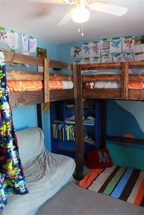 boys bedroom l boys room decor and l shaped loft bed timandmeg net