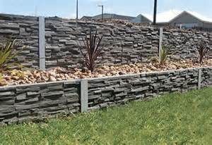 concrete sleepers panels for retaining walls outback
