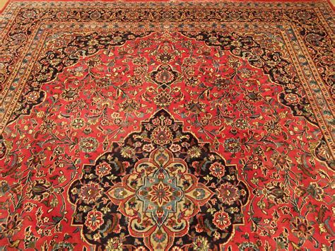 Handmade Iranian Rugs - handmade kashan rug 10x13