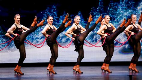 Rockettes kick up holiday spirit in Radio City revue   Houston Chronicle