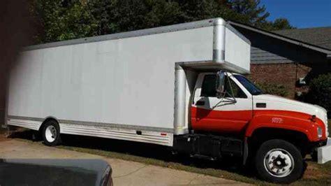 gmc c5500 2000 box trucks