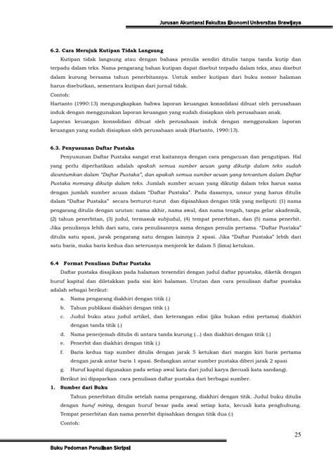 skripsi jurusan akuntansi pedoman skripsi jur akuntansi