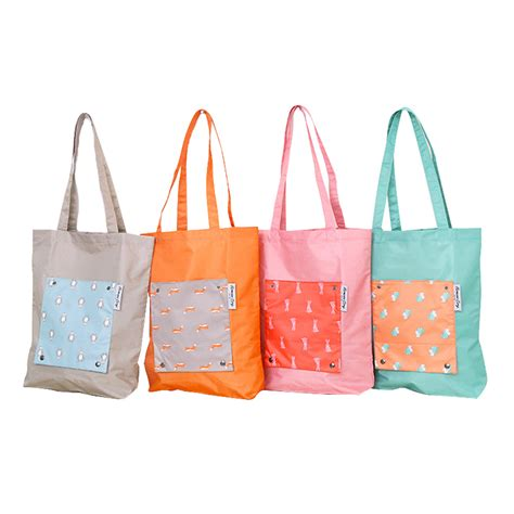 Totebag Serbaguna korean weekeight folding tote bag tas serbaguna korea elevenia