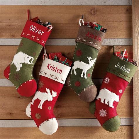 stocking ideas 75 christmas stockings decorating ideas shelterness