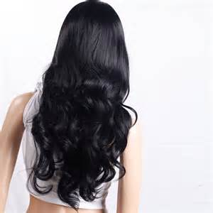 Hair Style Tools Bag India by New 28 7 Quot Middle Parting Hair Curly