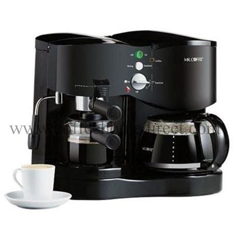 mr coffee ecm21 automatic coffee maker espresso machine