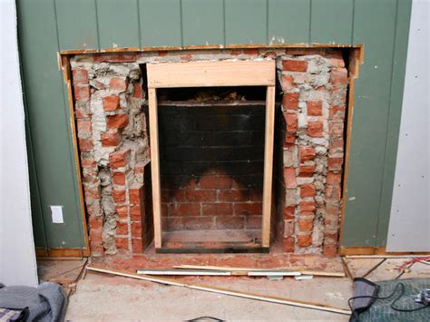 Removing Fireplace by Removing A Brick Fireplace Interior Design Styles And