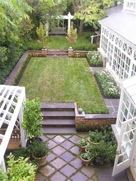 Small Narrow Backyard Ideas And Narrow Garden Garden