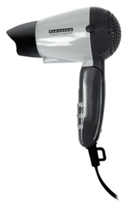 Hair Dryer Baggage Airways dual voltage appliances