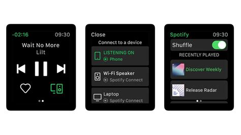 latest spotify update includes support  apple