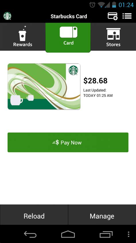 android app layout guidelines starbucks updates app to follow holo design guidelines