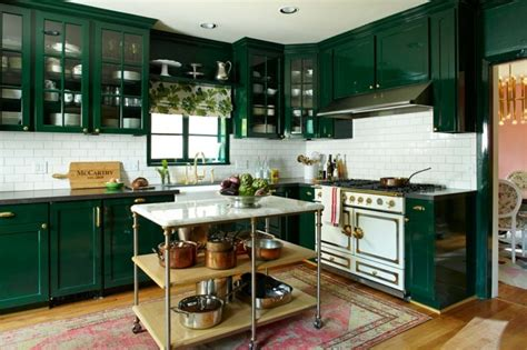 cuisine fonc馥 cuisine vert parce que le vert c est
