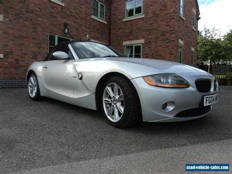 2004 bmw z4 2 5i se for sale in the united kingdom