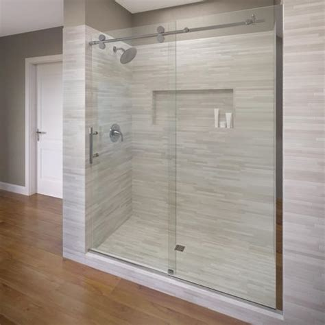 Roda By Basco Vinesse Lux Rolling Door And Fixed Panel Roda Shower Door