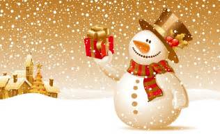 christmas snowman wallpaper 6907 1600 x 1000