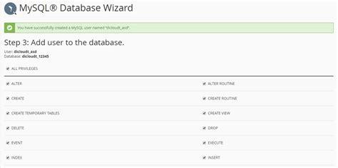 membuat database mysql di ubuntu panduan cara menggunakan fitur mysql 174 database wizard
