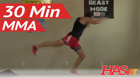 30 min knockout mma workout hasfit mma conditioning