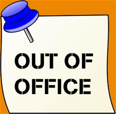 Stepping Out Of The Office But I Will Return by Creating An Out Of Office Auto Reply Email In Few Steps