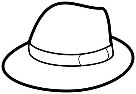coloring book hat floppy hat coloring pages
