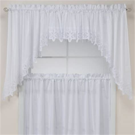 buy kitchen curtains swags from bed bath beyond