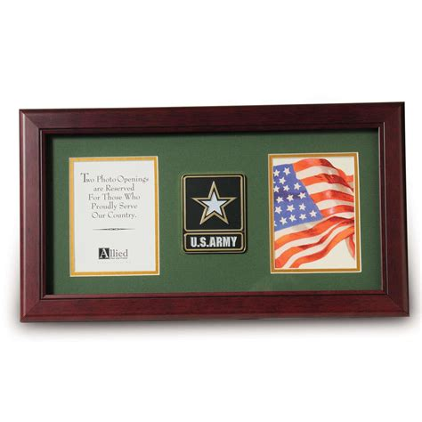4 Inch Picture Frame by Go Army Medallion 4 Inch By 6 Inch Picture Frame