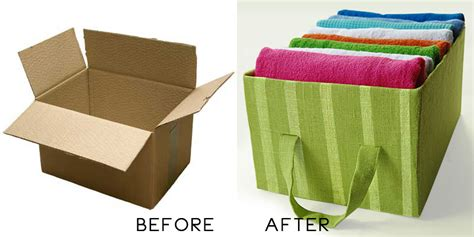 diy storage box ideas diy idea cardboard storage box wastehunter com