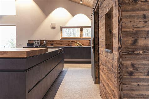 Holz Arbeitsplatten Küche by K 252 Che Dunkel