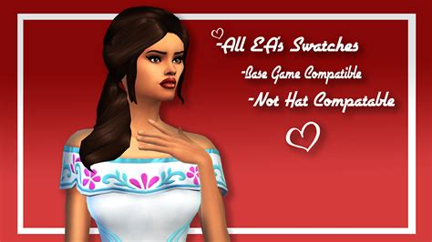 my sims 4 blog labels my sims 4 blog la diosa hair by simplifiedsimi
