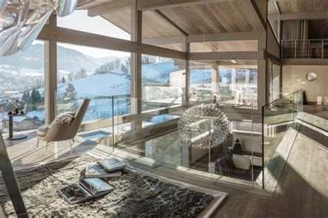 Luxury Homes Designs Interior Luxury Chalet Turns The French Alps Into The Perfect Ski
